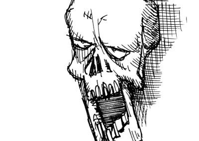 Bored Skull