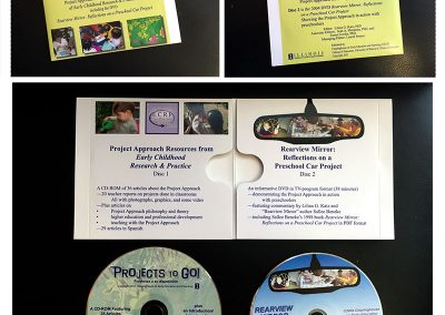 DVD label and jacket design