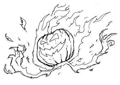 Pumpkin Elemental