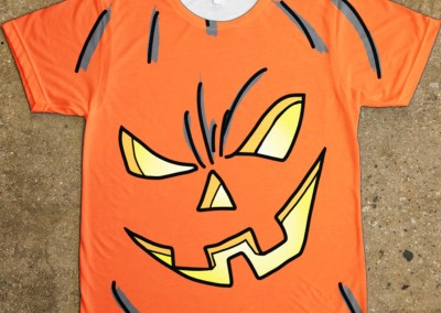 Pumpkin Face, Halloween t-shirt design