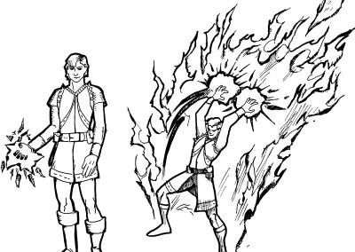 Warlock character concept